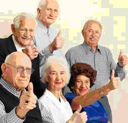 Resiencia de ancianos con biomasa