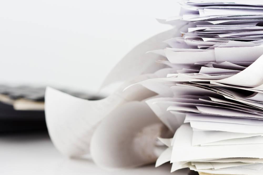 Medidas para conseguir ahorrar papel en la oficina